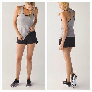 Lululemon Speed Short *4-way Stretch - Black